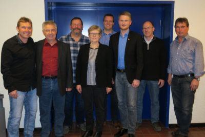Der neu gewählte Vorstand der CDU Stettfeld.